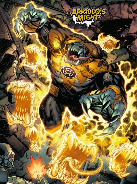 Green Lantern de Geoff Johns  - Page 2 Arkillos-might