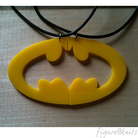 Batman Logo Best Friend Pendant