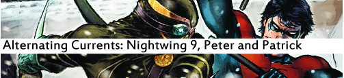 Alternating Currents: Nightwing 9, Peter and Patrick