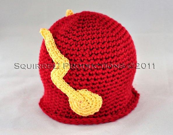 Crocheted Flash Hat