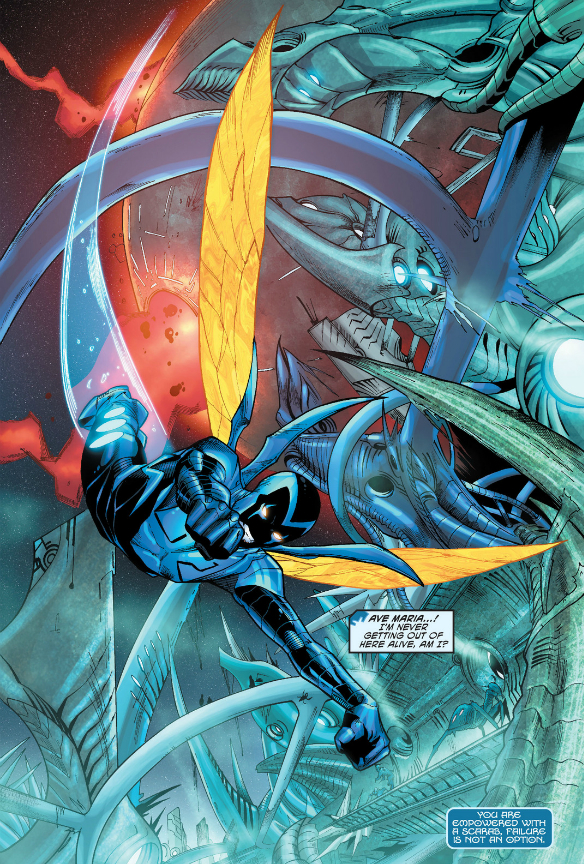 Blue Beetle 13 Retcon Punch The stand arrows don't actually have to be arrows to affect people. blue beetle 13 retcon punch