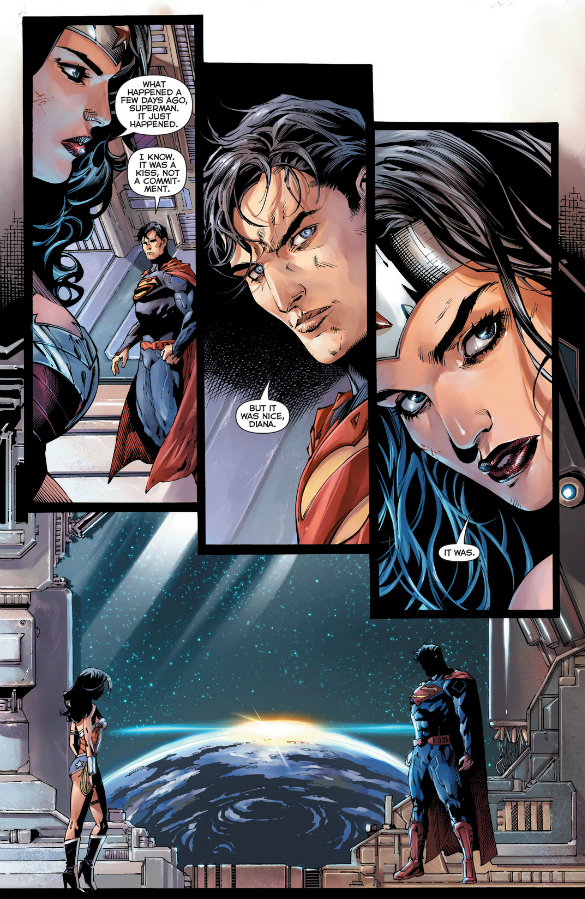CLARK AND DIANA SITTIN' IN A TREE...