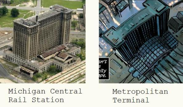 train station comparison