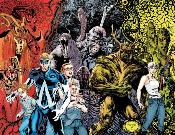 12 Swamp Thing Animal Man 12