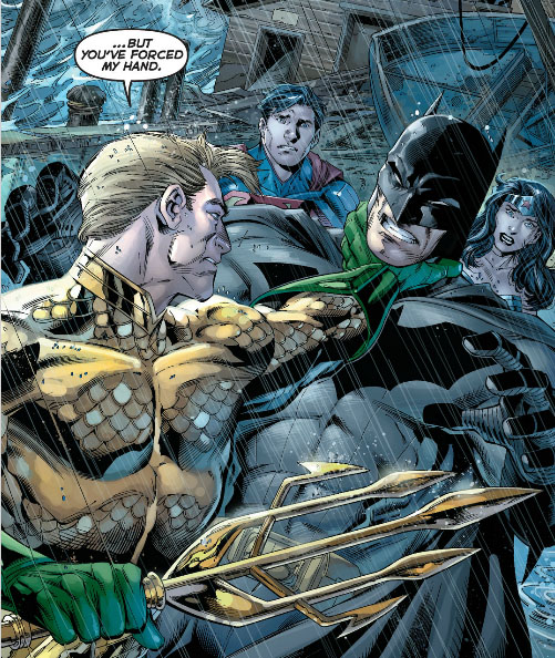 aquaman and batman