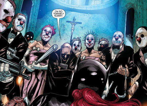 batgirl wedding party