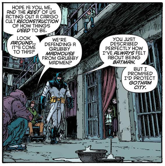 Damian hates being batman so much