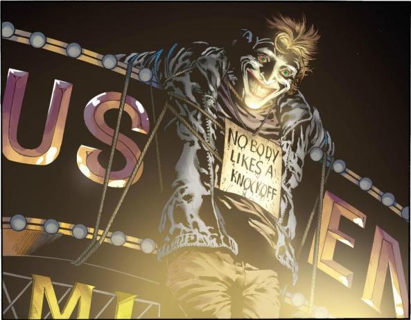 Joker Sez - Nobody likes a knockoff