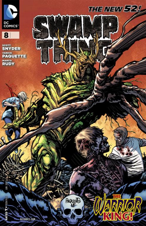 swamp thing 2012