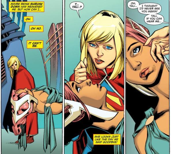 Tali can't hear Supergirl