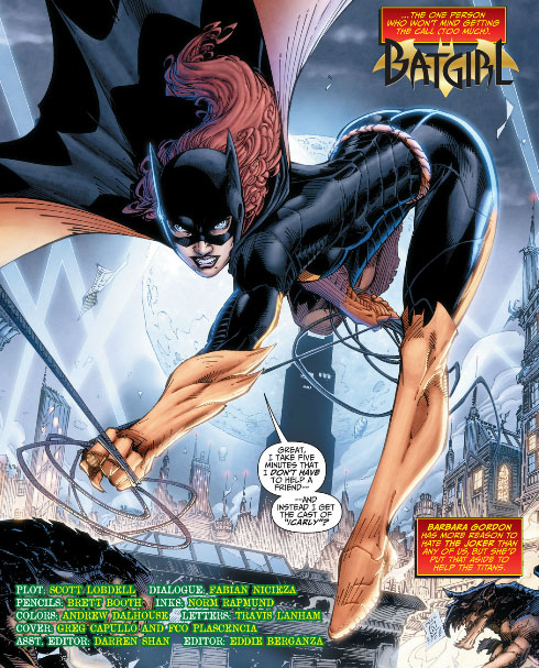 batgirl teen titans