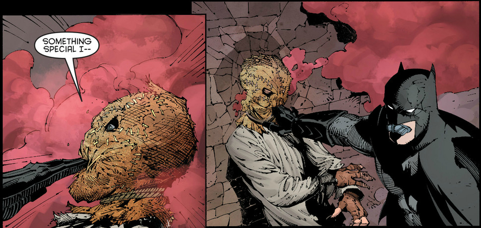 Scarecrow Batman New 52 The scarecrow is the main villain of arkham ...