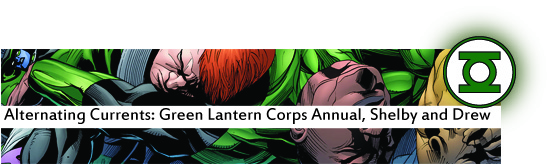 green lantern corps annual 3rd