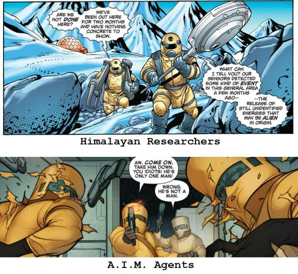 Himalayan Researchers or AIM Agents