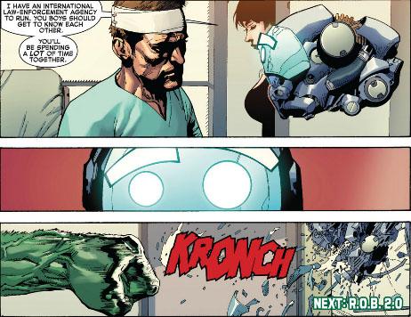 hulk smash ROB