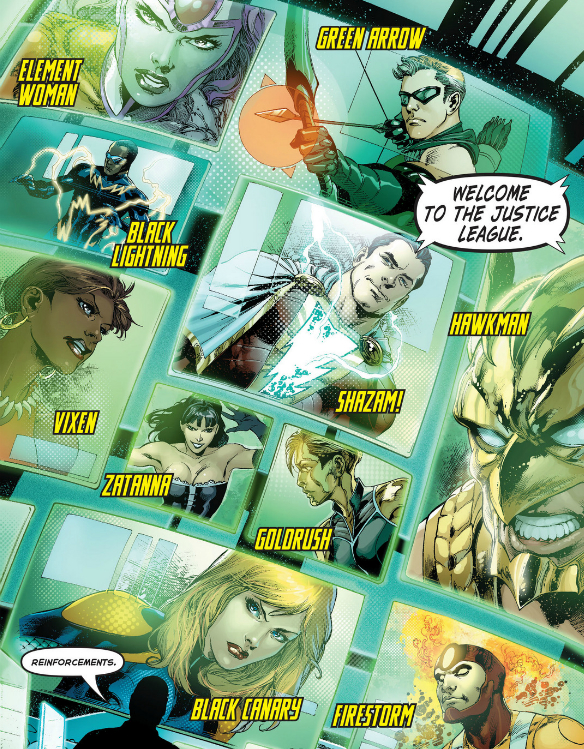 Justice League B squad