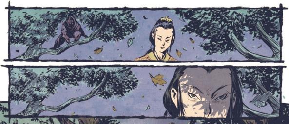 Kitsune and a Ninja