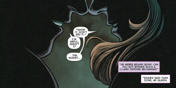 Kyle Rayner's Show It Don't Say It rule
