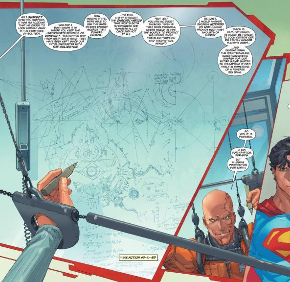 Lex Luthor explains H'el plan