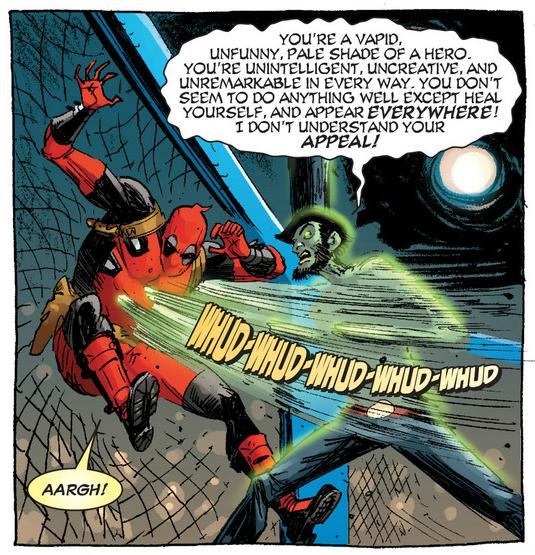 Lincoln lays into Deadpool