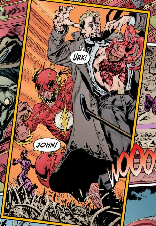 Rot Flash kills John Constantine