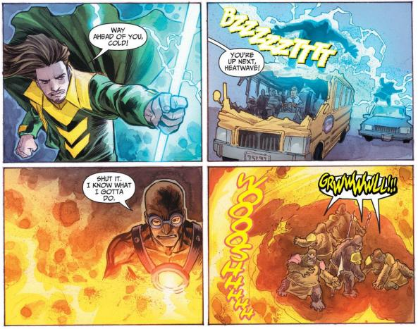 Weather Wizard and Heatwave work with the Rogues