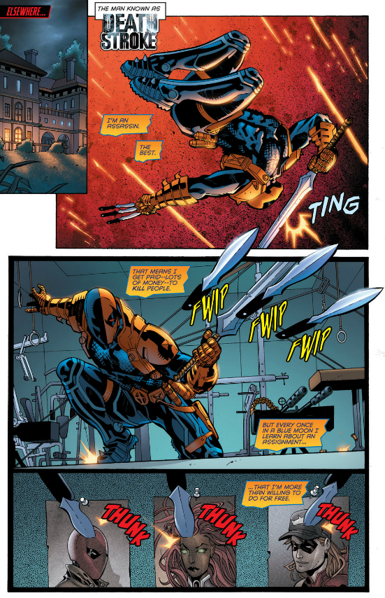 Work it Deathstroke