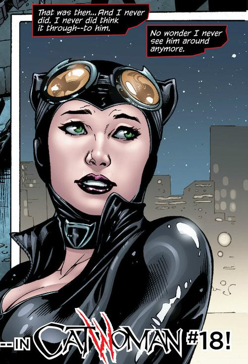 Catwoman... what