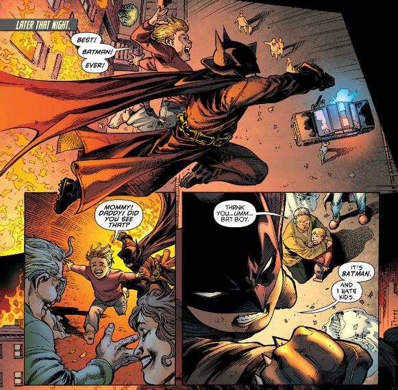 Damian is the best Batman!