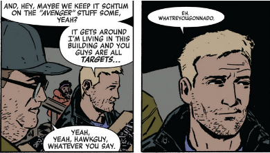 hawkeye 7 clint security clearance