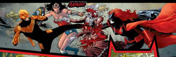 Hawkfire, Wonder Woman and Batwoman shatter Bloody Mary