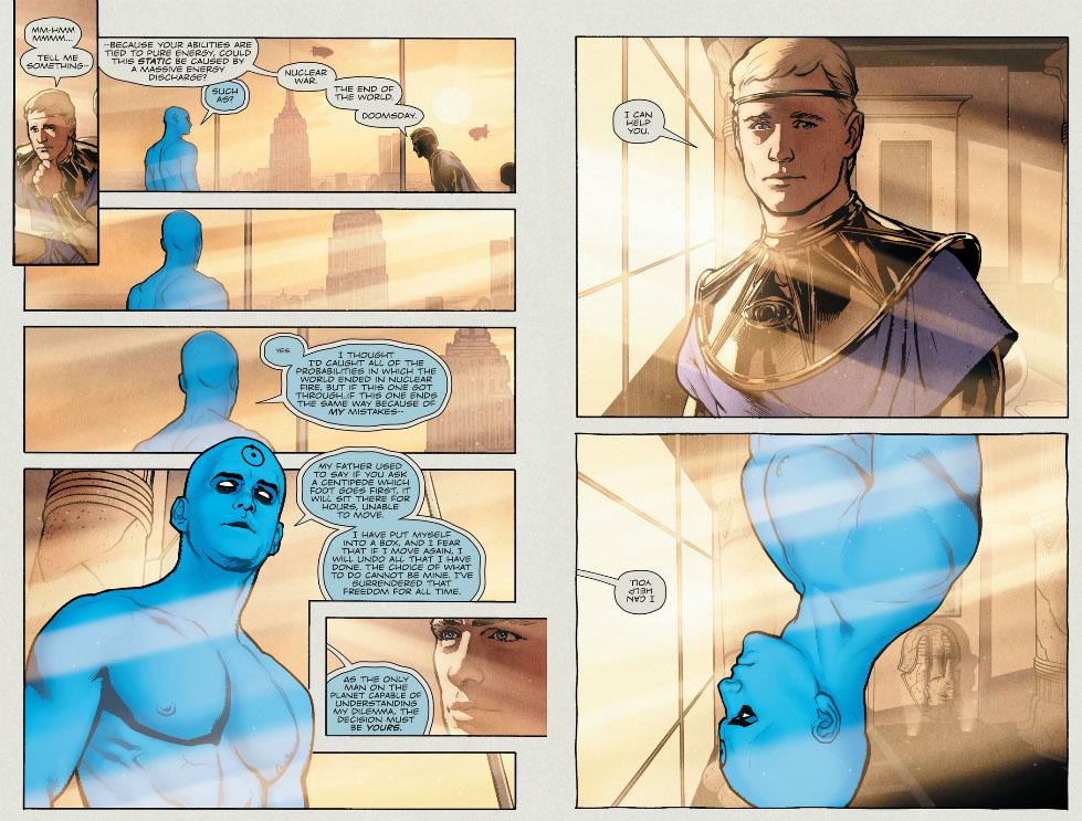 Before Watchmen Dr Manhattan 4 Retcon Punch