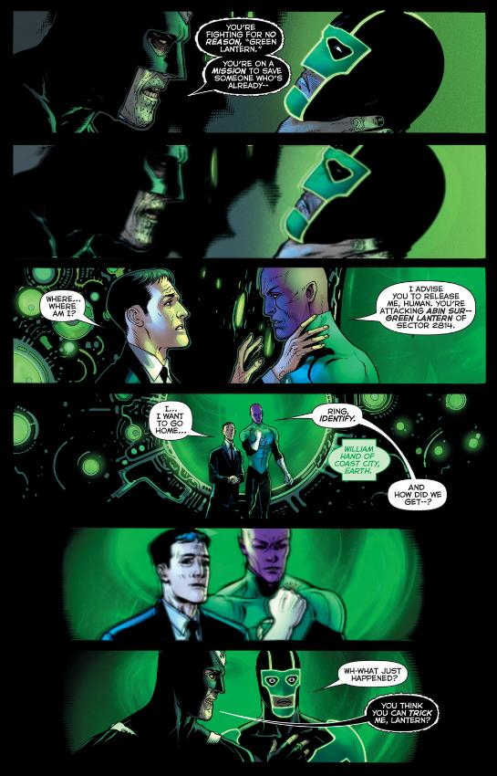 Simon Baz and Black Hand or William Hand and Sinestro - Green Lanterns for sure