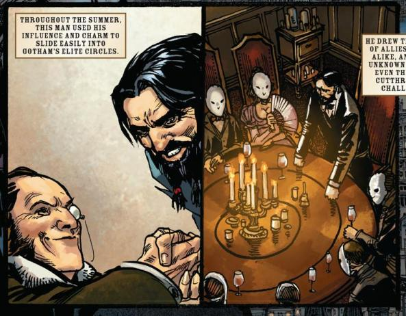 Vandal Savage meets Mayor Cobblepot and the Court of Owls