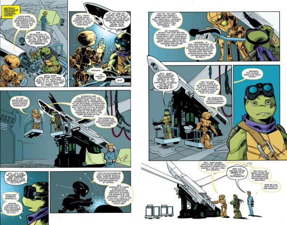 Donatello and Fugitoid discuss the soul