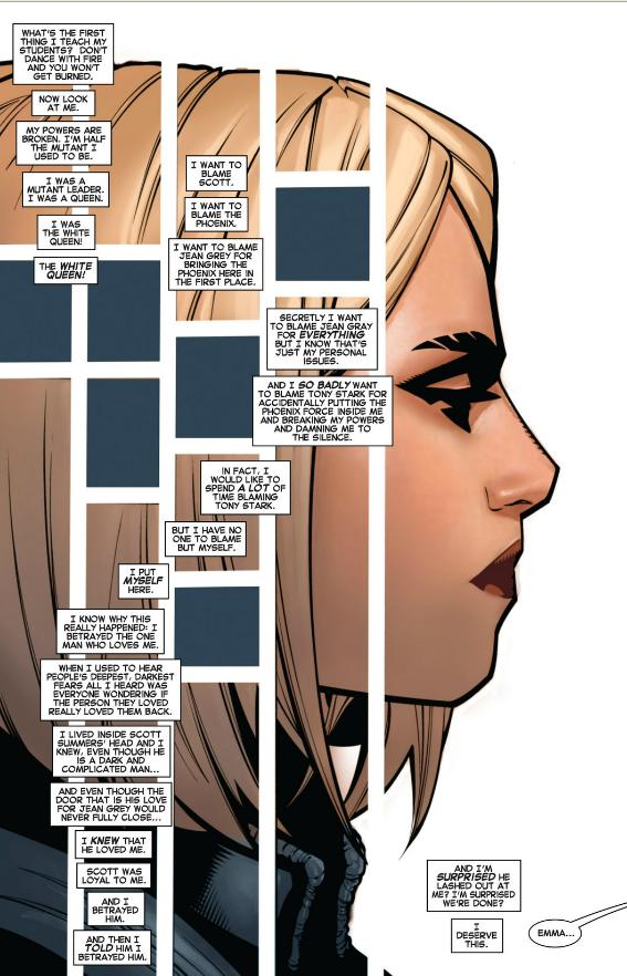 Emma Frost is broken