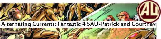fantastic four 5AU AU