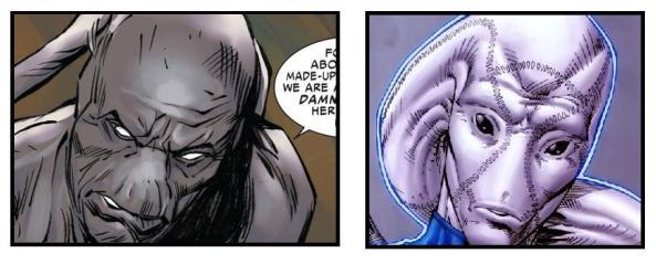 Gorr and Saint Walker comparison
