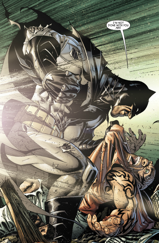 Badass. Level: Batman