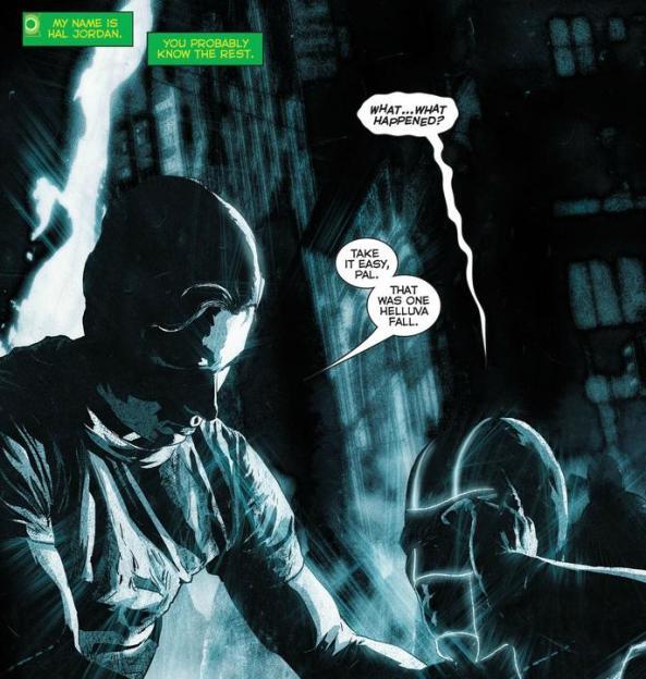 My name is Hal Jordan