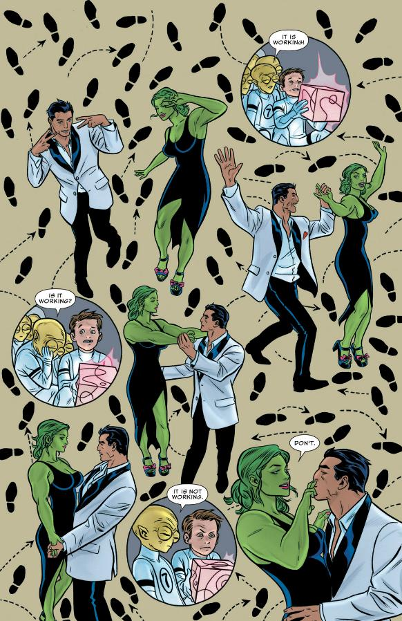 She-Hulk and Wyatt Wingfoot go DANCING
