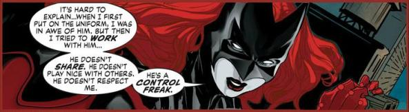 Batwoman trashes Batman