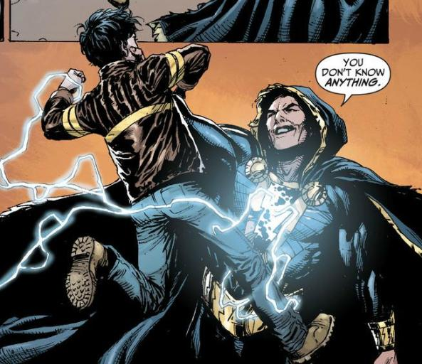 Billy Batson and Black Adam