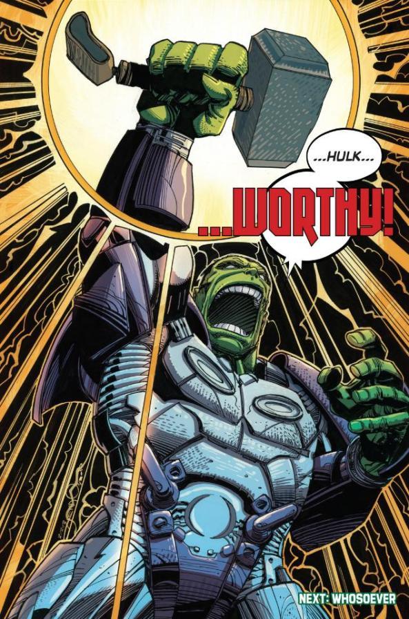 Hulk and mjolnir