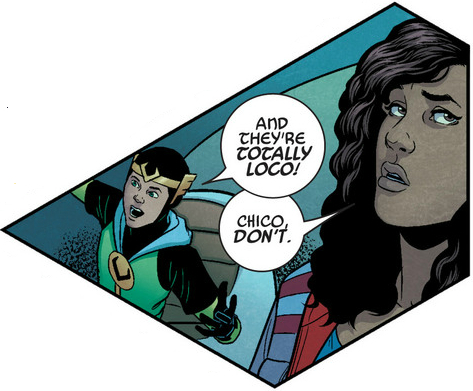 Isn't that kinda racist Loki?