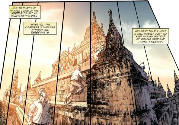 John Constantine infiltrates the temple