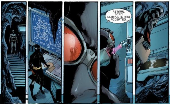 Ok, so we know the thief has retinas...