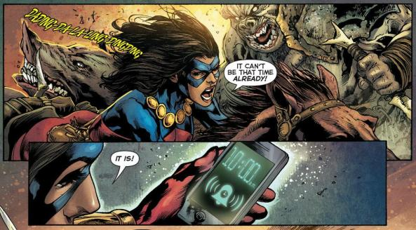 The Atom brings her iPhone into the World of Warcraft
