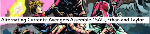 avengers assemble 15AU