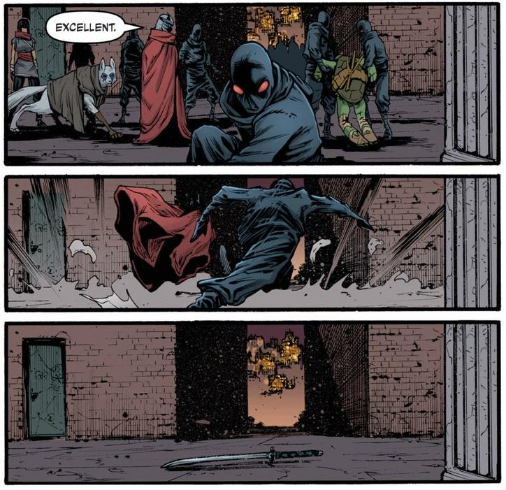 Teenage Mutant Ninja Turtles 22 Retcon Punch